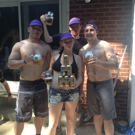 beer olympic champs