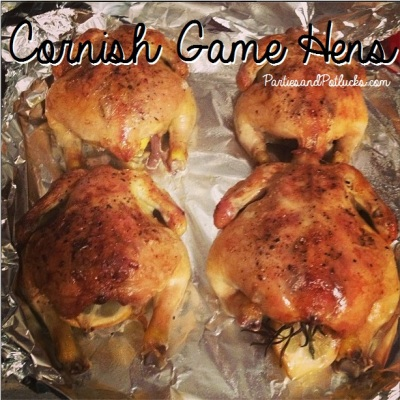 cornish game hens